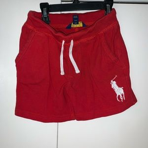 Polo Ralph Lauren Red cotton shorts 4t